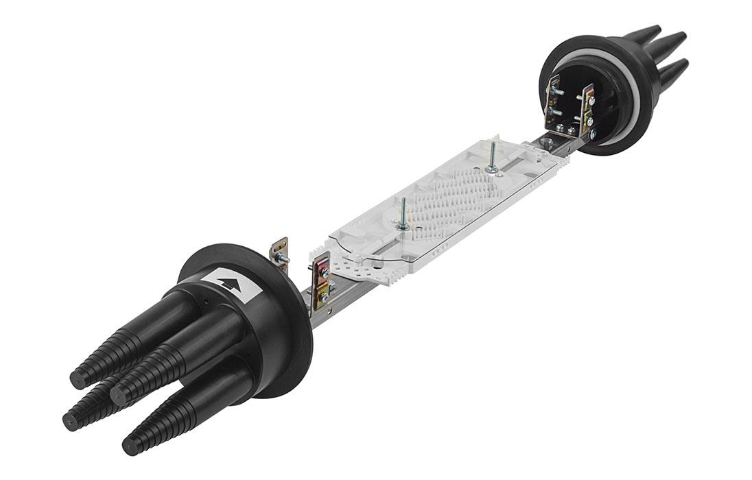 Муфта оптическая в кабельную канализацию