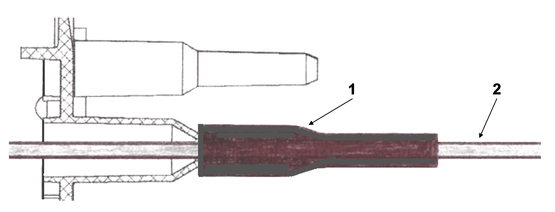 Герметизация ввода оптического кабеля в подвесной муфте МТОК