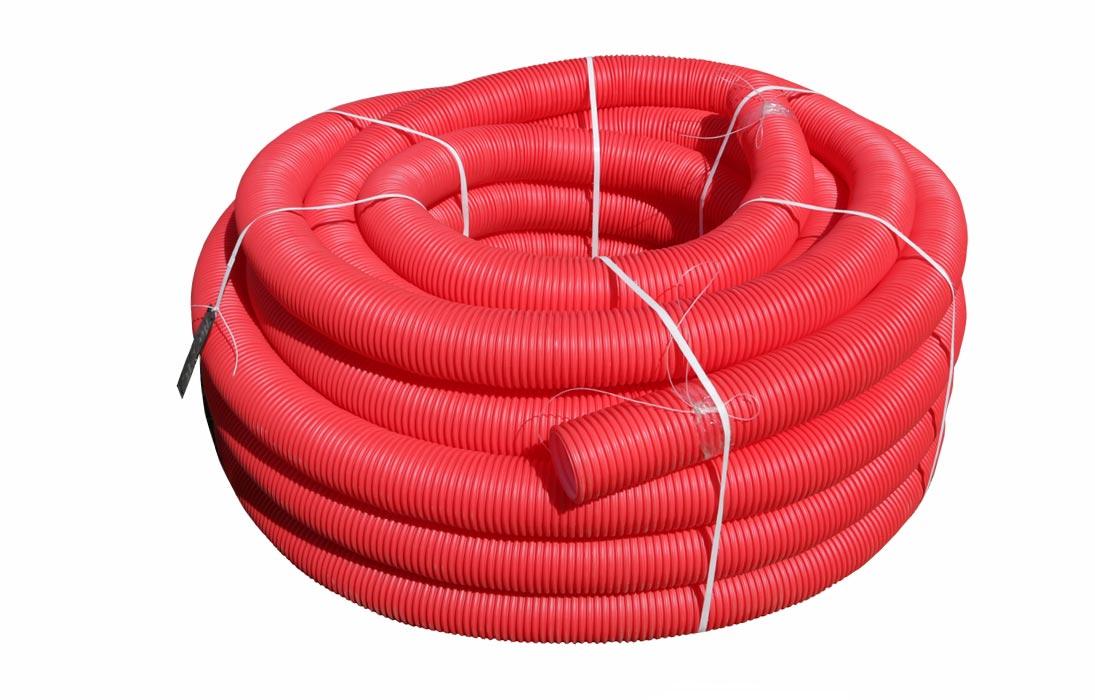 Труба гибкая гофрированная для кабеля