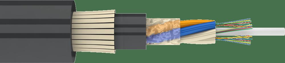 Стандартный подвесной самонесущий кабель ДПТс