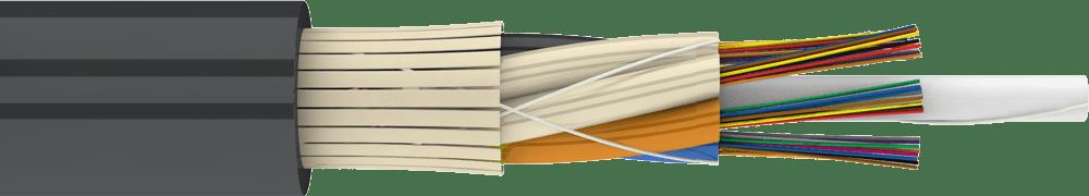 Подвесной самонесущий кабель ДОТс
