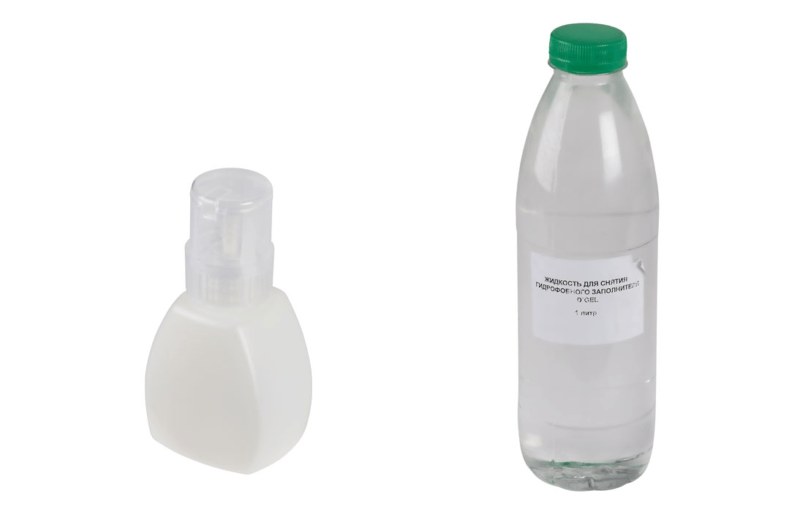 Жидкость D-Gel для удаления гидрофобного заполнителя